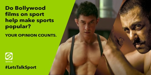 Do Bollywood sport films help make sports more popular?
